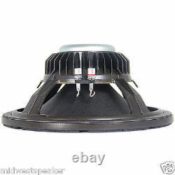 Eminence DOUBLE-T 15 Travis Toy 15 Pedal Steel Guitar Speaker 4 ohm 300 watt