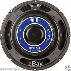 Eminence LEGEND BP102-4 10 Bass Guitar Speaker 4 ohm 400 Watt Max FREE US SHIP