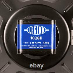 Eminence Legend 1028K 10 inch Lead Rhythm Guitar Replacement Speaker 8 ohm 35 W