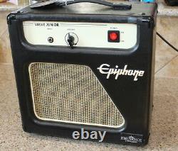 Epiphone Valve Junior Jr Combo Guitar Tube Amplifier Amp 8 Eminence Speaker 5Wt