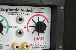 Euphonic Audio EA VL-110 Passive Speaker Cabinet Owned by Leland Sklar #38776
