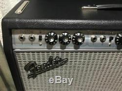 Fender 68 Vibrolux-Reverb 35 watt Guitar Amp With Speaker Upgrade