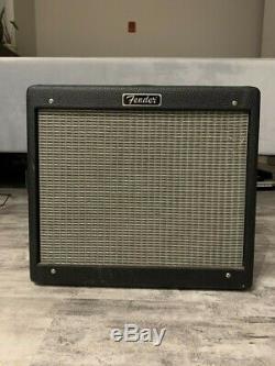 Fender Blues Jr. 15W guitar amp Eminence speaker, Sovtek tubes, good condition