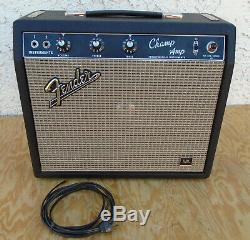 Fender Champ Blackface Amp Jbl Speaker Beautiful Condition Combo Amplifier 1967
