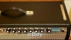 Fender Vibrosonic Reverb 15 JBL Speaker Tube Amp Ship Wide Wide