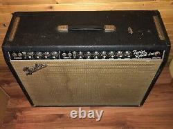 Fender Vintage 1966 Twin Reverb Blackface AB763 Jensen Speakers