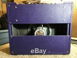 Handbuilt 18 Watt Amplifier Marshall 1974X circuit all tube- 12 Weber Speaker