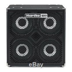 Hartke HyDrive HD410 4x10 Bass Guitar Speaker Cabinet, 1000w, 8Ohms