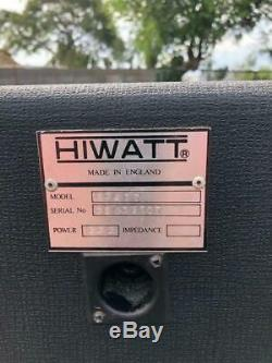 Hiwatt Speaker Cabinet Guitar Amplifier Collection Special Excellent Authentic
