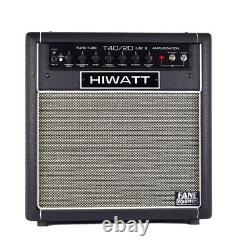Hiwatt T40/20C112 Switchable 40With20W Guitar Amp Combo with 1X12 Octapulse Speaker