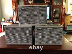 LOT of 3 Vintage Hilton K-110 Full Range Speakers JBL K110 L@@K