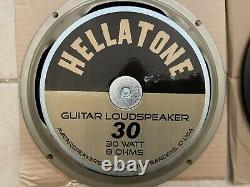 Lot Of 6 Guitar Amp Speakers Scumback, Hellatone, Greenback, Warehouse, Jensen