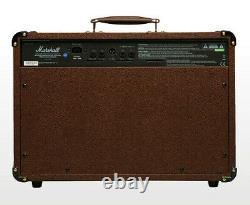 Marshall AS50D 50 watt Acoustic Guitar Combo Amplifier 2x8 Speakers & Mic Input
