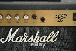 Marshall Lead 20 Guitar Combo Amp Amplifier Model 5002 with speaker