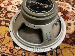 Matched Pair 2x Vintage 1969 1960s Celestion Greenback T1221 G12 Speaker Driver