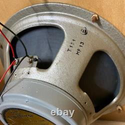 Matched Pair 2x Vintage 1973 Celestion G12M 25w T1511 Creamback 12 Speakers RIC