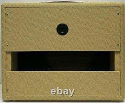 Narrow Panel Tweed Deluxe Guitar 5E3 Amplifier Extension Speaker Cabinet