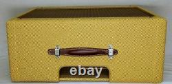 Narrow Panel Tweed Deluxe (Pro Junior) Guitar Amplifier Combo Speaker Cabinet
