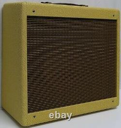 Narrow Panel Tweed Princeton Guitar 5F2 Amplifier Combo Speaker Cabinet