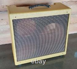 Narrow Panel Tweed Pro Style Guitar Amplifier Combo Speaker Cab 5e5-a