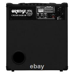 Orange Crush Bass 50 50W 12 Bass Guitar Amplifier and Speaker Combo, Black