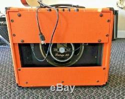 Orange Rocker 30 Combo Guitar Amp 1x12 Vintage 30 Speaker Amplifier Used Great