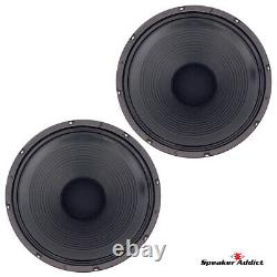 PAIR Peavey Blue Marvel Classic-1238-4 ohm guitar speaker Eminence made in USA