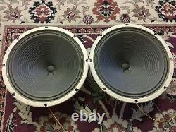Pair of Vintage Oxford 12 Speakers 8 Ohms Guitar Amplifier