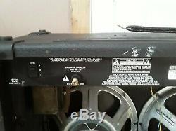 Peavey Special 212 Transtube 2x12 Guitar Combo Amplifier Sheffield 1230 Speakers