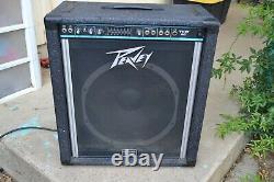 Peavey TKO 80 Guitar Bass Amplifier Scorpio Equipped Equalizer 15 speaker