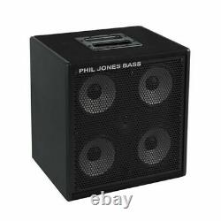 Phil Jones Bass Cab-47 300W 4 x 7 Speakers Bass Speaker Cabinet with Tweeter