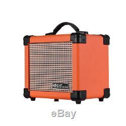 Portable BT Electric Guitar Amplifier Speaker Speakers Amp 10W Two Channels R0F0