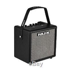 Portable Mini Electric Guitar Amplifier Speaker Speakers Amp 8W 3 Effects S6V3
