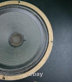 RARE 1965 Celestion G12M T1511 T1221 Greenback 12 loudspeaker Vintage Pulsonic