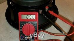RARE Genuine Electro-Voice Vintage EVM-12L Series II 8 Ohm 12 200 Watt Speaker