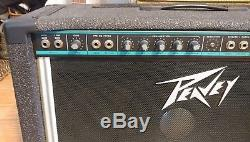 RARE PEAVEY SESSION 400 LIMITED Steel Guitar Amplifier. HUGE BLACK WIDOW SPEAKER