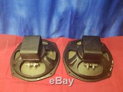 Rola 8 Alinico Pair Full Range Speakers 8 Ohm AO-24398-0 Guitar Tube Amplifier