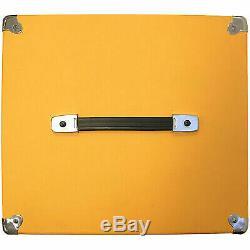 Seismic Audio 1x12 GUITAR SPEAKER CAB EMPTY Cube Cabinet Orange Tolex