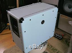 Son Set Beach SSB112 Custom Baby Blue Orange 1x12 Speaker Cab Ready UN-loaded