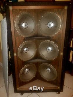 Sunn 610S Vintage 6X10 Speaker Cabinet c. 1969