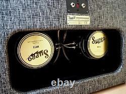 Supro 1799 Black Magick Statesman 2x12 Guitar Amp Extension Speaker Cabinet BD12