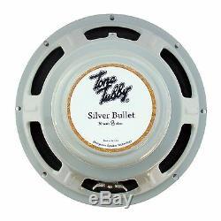 Tone Tubby 10 Silver Bullet Alnico Hempcone Guitar Speaker 8 ohm NEW +Warranty