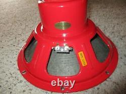 Tone Tubby 12 Red Alnico Hemp Cone Speakers 8 Ohm Pair