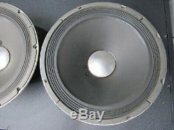 Two Altec 417-8c Vintage Guitar Speakers 8 ohm 12 Good original condition