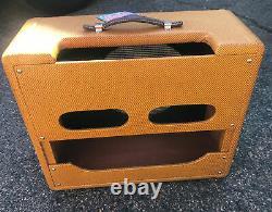 VINTAGE TONE Tweed Deluxe Style Guitar Amplifier Standard Combo Speaker Cabinet