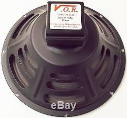 VOR 12 Alnico 25 watt Guitar Speaker 8 ohm NEW STOCK Jensen P12R Upgrade