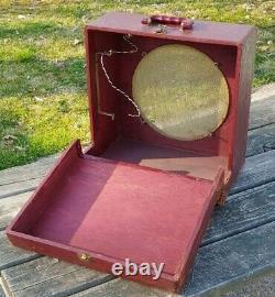 Vintage 1940/50's AMPRO Extension SPEAKER CABINET Un-Loaded