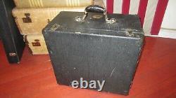 Vintage 1940s VICTOR Speaker and Cabinet for Projector Guitar Amplifier 12 Orig
