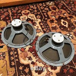 Vintage 1960s Elac 10N/49 10 Speaker Drivers for Vox AC10 Watkins WEM Amplifier