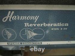 Vintage 1961 Harmony 310 External Reverb Unit w Jensen 10 Speaker